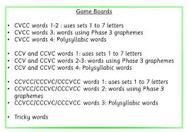 phonics phase 4 speed race games race games phonics and game boards