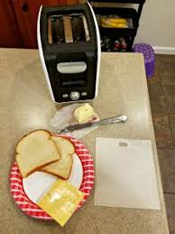 Buttered Bread In Toaster Grilled Cheese Sandwich In The Toaster Atx Food News