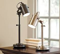 home office desk lamps pottery barn