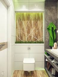 small bathroom design chic green white accents bathroom partition