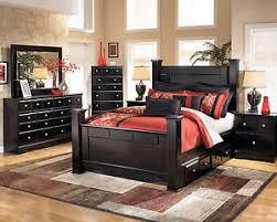 ashley storage bed ashley furniture b271 shay queen king black poster storage bed