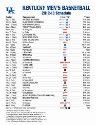 uk basketball schedule on tv making the kentucky basketball schedule is more complicated than you