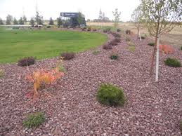Decorative Rock Landscaping Montana Red Rock Landscape Wolverine Rock And Mulch