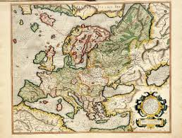 atlas map of europe the of maps map of europe from atlas sive cosmographicae by