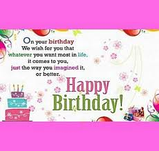 happy birthday cards for friend saying that you will be able to