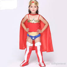 Wonder Woman Costume 2017 Wonder Woman Costume Dress Kids Halloween Superhero