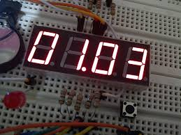 membuat jam digital led besar membuat jam breadboard kurang dari 30 menit emanuel setio dewo