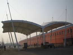 Promotional Canopies by Mp Toll Naka Canopies Manufacturer Supplier Trader Gurgaon