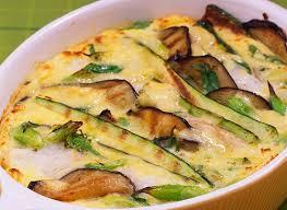 cuisiner aubergine facile gratin de cabillaud aux aubergines et aux courgettes