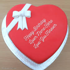 best 1 website for name birthday cakes write your name on heart