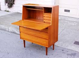 Teak Mid Century Modern Furniture by Danish Mid Century Secretary Desk In Teak Mad 4 Mid Century
