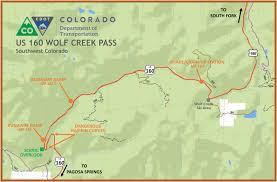 Colorado On A Map by Colorado Dot Urges Truckers To Use Caution On Mountain Passes