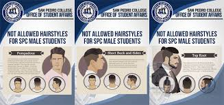 pinoy new haircut for men school bans trendy hairstyles for male students when in manila