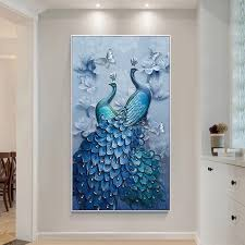 online get cheap peacock blue living room aliexpress com