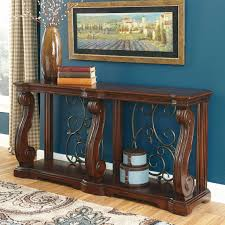 sofa tables on sale ashley alymere sofa console table living room tables home