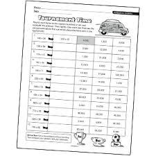 estimating multiplication worksheets u0026 multiplication worksheets
