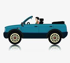 cartoon convertible car cartoon convertible convertible car cartoon travel png image and
