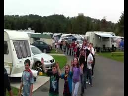 conga line at hidden valley holiday park rathdrum co wicklow
