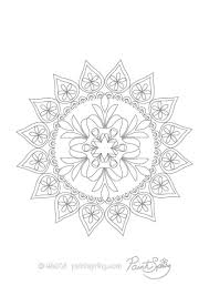 printable mandala coloring book 3 free pages