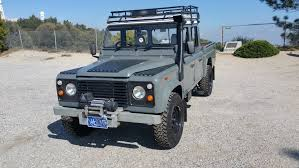 land rover truck for sale 1992 land rover defender 130 double cab high capacity pickup