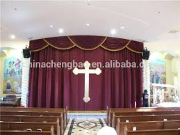 Church Curtains Decoration Backdrops Church Curtains Decorations