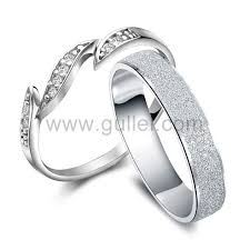 wedding rings with names names engraved silver men and women unique wedding bands