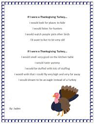 thanksgiving turkey personification poem generator