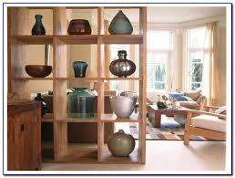 Shelf Room Divider Surprising Open Bookcase Room Divider 46 For Best Design Interior