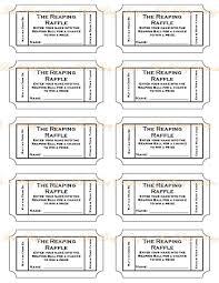 Raffle Sheet Template Free Printable Raffle Ticket Template Best Business Template