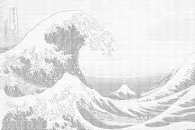 Ascii Art Meme - in the well of the great wave of kanagawa ascii art know your meme