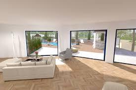 ouverture cuisine sur sejour ouverture cuisine sur sejour 3 maison moderne vitree chaios cgrio
