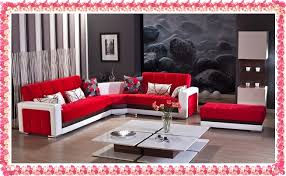 Red Corner Sofa by 2016 Red Corner Sofa Designs New Red Corner Set New Decoration