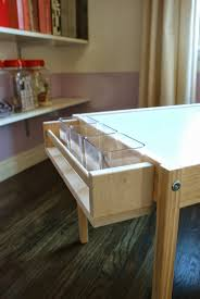 Ikea Craft Table by Design Ingenuity Diy Kids Craft Table Laundry Room Pinterest