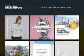 social media brochure template step up your instagram with these 20 social media psd