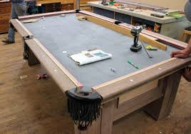 how to put a pool table together dorset custom furniture a woodworkers photo journal a custom pool