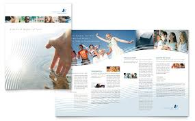 christian ministry brochure template word u0026 publisher