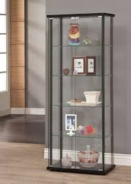 Curio Cabinets With Glass Doors Solid Wood Curio Cabinets With Glass Doors Tags 47 Rare Solid