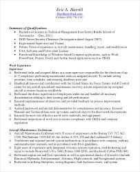 Military Resume Examples For Civilian Military Resume 8 Free Word Pdf Documents Download Free