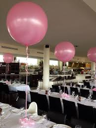 balloon delivery salt lake city 3ft balloons in pearl metallic baby pink for a christening