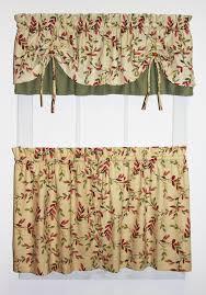 Vintage Green Curtains Vintage Vine Curtain Collection Country Floral Vine Print
