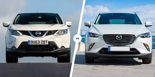 nissan kicks vs juke nissan qashqai vs mazda cx 3 u2013 suvs compared carwow