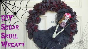 diy dollar tree and hobby lobby halloween wreath youtube