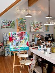 Dining Room Paintings by Best 25 Painting Studio Ideas On Pinterest Art Studio