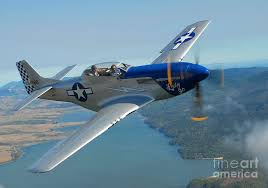 tf 51 mustang a tf 51 mustang in flight near santa photograph by phil wallick