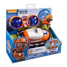 amazon com paw patrol nickelodeon zuma u0027s hovercraft toys u0026 games