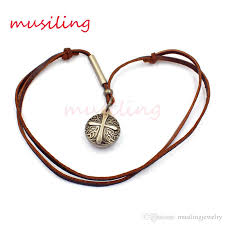 leather necklace pendants images Wholesale locket cross leather necklace pendants jewelry jpg