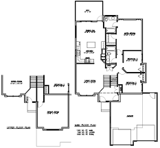 modified split level home plans modified printable u0026 free
