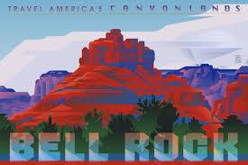 Arizona Travel Posters images Garth glazier sedona travel posters jpg
