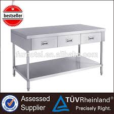 Stainless Steel Prep Table With Drawers Stainless Steel Work Table Stainless Steel Work Table Suppliers