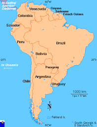 south america map bolivia clickable map of south america